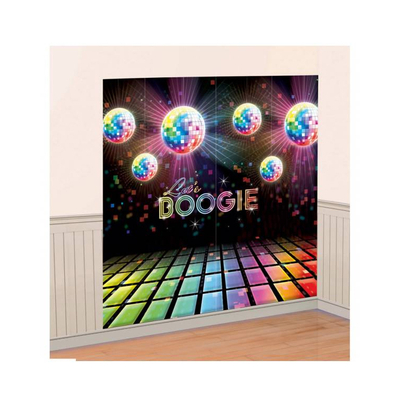 Décoration murale disco