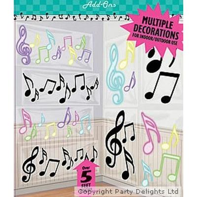 Décoration Notes de Musique