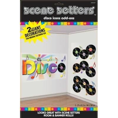 Décoration Murale Disco Disques