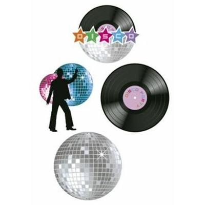 4 Décors En Carons Thème Disco