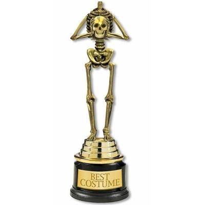 Trophée d'Or Squelette