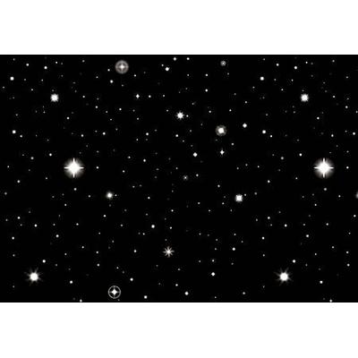 Scène Murale Star Étoiles