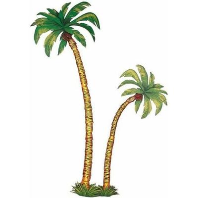 2 Palmiers En Carton