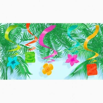 15 Suspensions Thème Hawaï