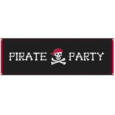 Bannière Géante Pirate Party