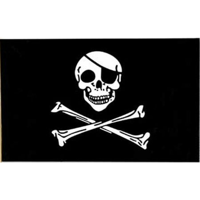 Drapeau Pirate Grand Modèle