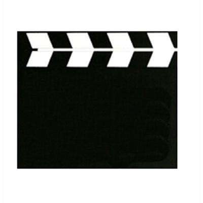 3 marque place Clap de Cinéma En Bois 9 Cm