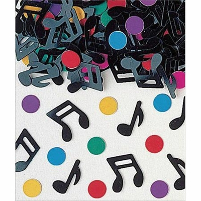 Confettis de Tables Notes de Musique