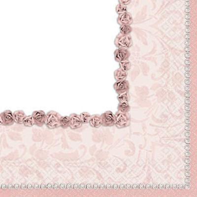 Serviettes Perles parme