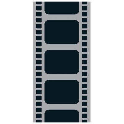Chemin de table pellicule de cinéma