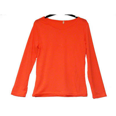 Tee shirt enfant orange fluo