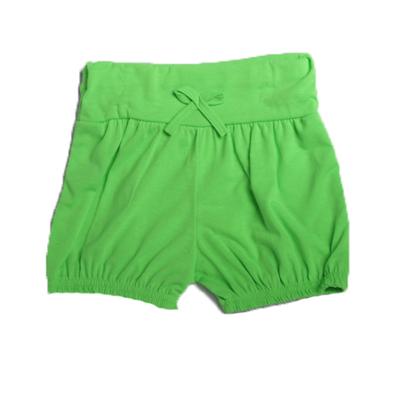 Short enfant fluo vert