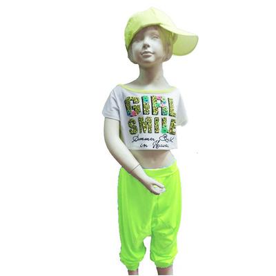Pantalon sarouel hip hop anis