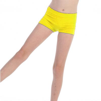 Short de danse enfant jaune