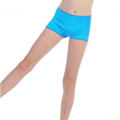 Short de danse enfant turquoise