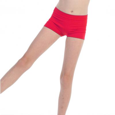 Short de danse enfant rouge