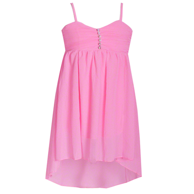 Robe de danse enfant en mousseline rose