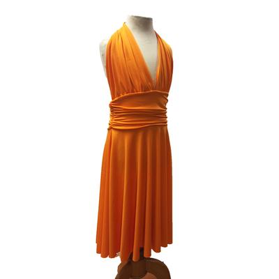 Robe de danse Marilyn enfant orange