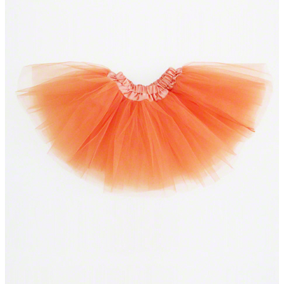Mini jupe tutu orange enfant