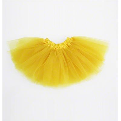 Mini jupe tutu jaune enfant