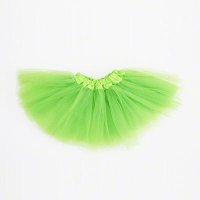 Mini jupe tutu vert anis enfant