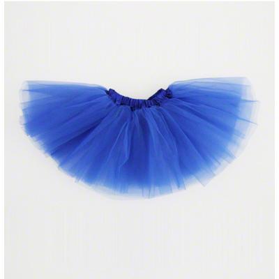 Mini jupe tutu bleu royal enfant