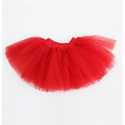 Mini jupe tutu rouge enfant