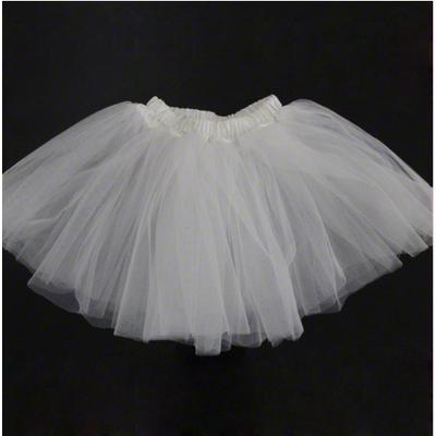 Mini jupe tutu blanc enfant