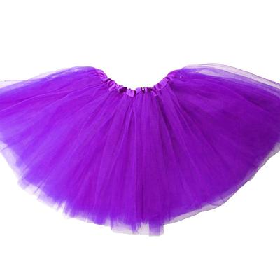 Mini jupe tutu violette enfant