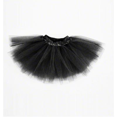 Mini jupe tutu noire enfant