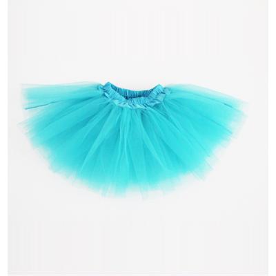 Mini jupe tutu turquoise enfant