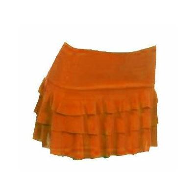 Jupe à Volants Orange