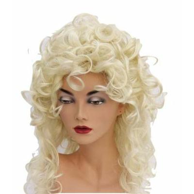 Perruque Bouclée Blonde