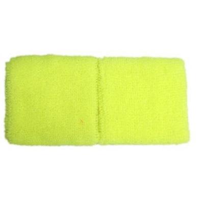 Bracelets éponge fluo jaune 80'