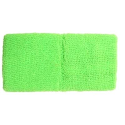 Bracelets eponge vert fluo