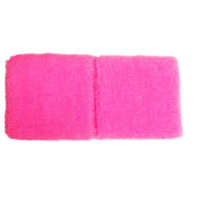 Bracelets éponge rose fluo 80'
