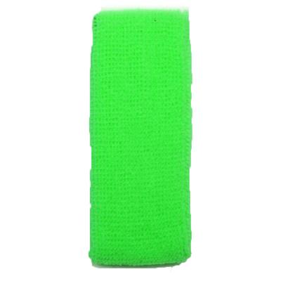 Bandeau éponge vert fluo 80'