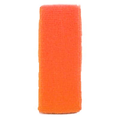 Bandeau orange fluo 80'