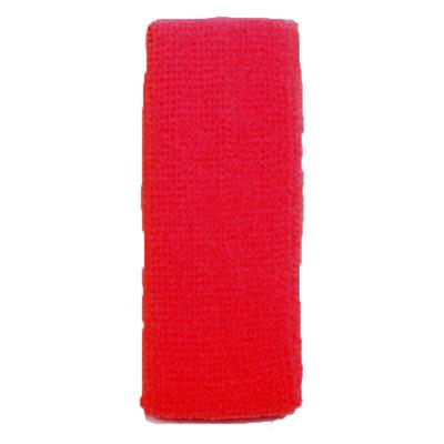 Bandeau éponge rouge