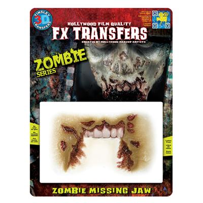 Cicatrice machoire de Zombie