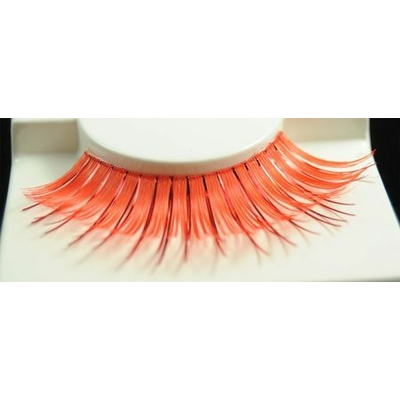 Faux Cils orange/Métal