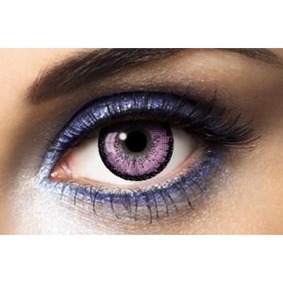 Lentilles de contact big eyes violet