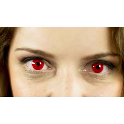 Lentilles de contact rouges 1 JOUR