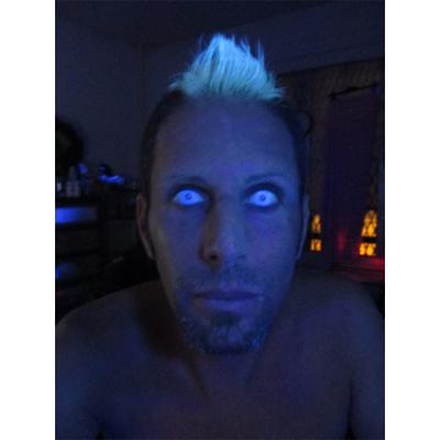 Lentilles de contact blanches glow
