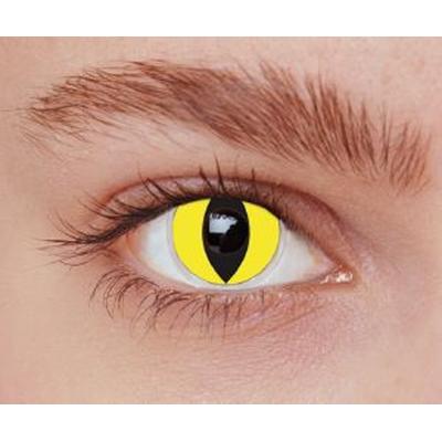 Lentilles de contact Fashion Lentilles Yellow cat