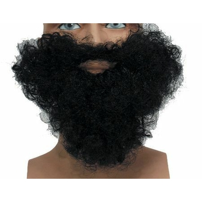 Barbe Et Moustache Noire