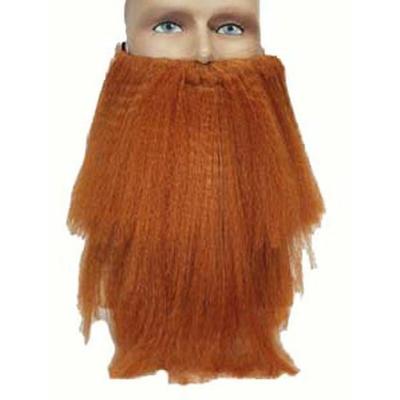 Barbe Et Moustache Rousse