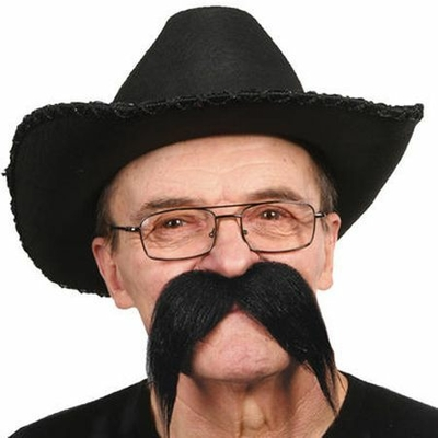 Moustache Biker 70'