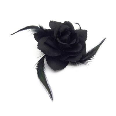 Chouchou rose noire