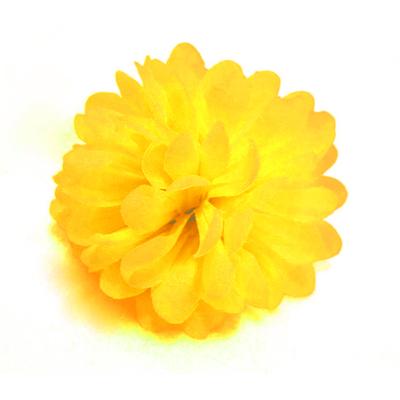 Pince chouchou fleur  jaune
